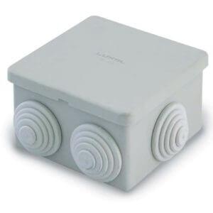 Коробка распаячная для открытой проводки 70х70