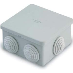 Коробка распаячная для открытой проводки 80х80