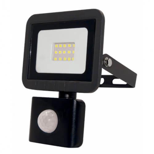 Прожектор Eco ЭРА LPR-041-2-65K-020 20Вт 1600Лм 6500К датчик движ.регулируемый 100x130x45