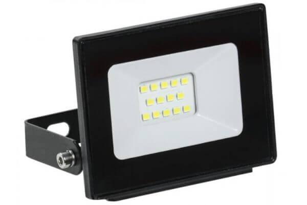 Прожектор светодиодный СДО 10Вт 6500К IP65 черн. ИЭК