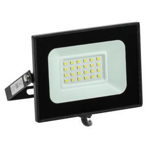 Прожектор светодиодный СДО 06-20 6500К IP65 черн. ИЭК
