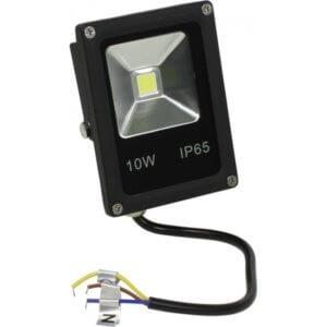 Прожектор Eco ЭРА LPR-10-6500K-M SMD Eco Slim 10Вт 700Лм 6500K 113х80 рамка. накл.кр