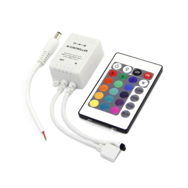 Контроллер IR 6А 72 Вт цветной пульт