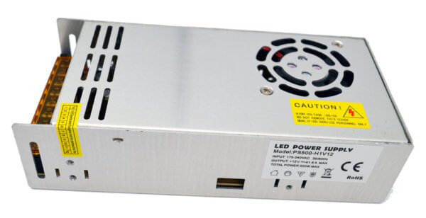 Блок питания Premium 500Вт 12В 205*104*55 (PS500-H1V12) IP20