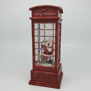 """Светильник новогодний """"Телефонная будка"""" CMR-1907-1913"""