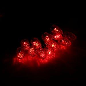 Шишки маленькие 20LED Красный
