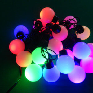Шарик 20 LED большой Мульти