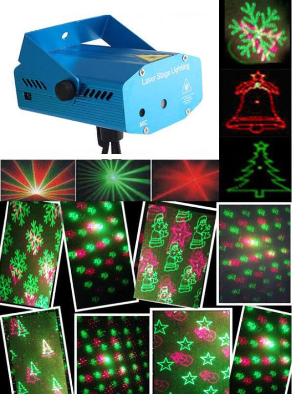 Новогодний лазерный проектор