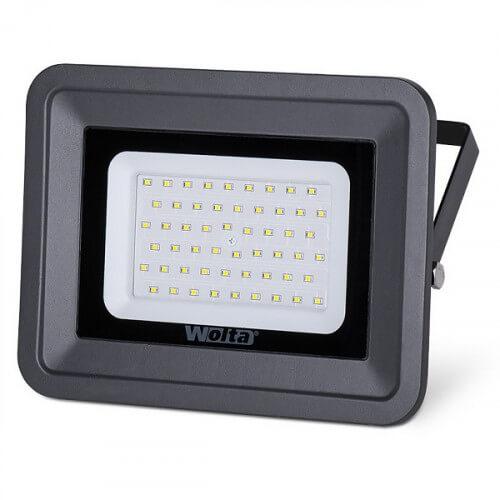 Светодиодный прожектор WFL-30W/06. 5500K. 30W SMD. IP65. цвет серый. слим 9405401009 WOLTA