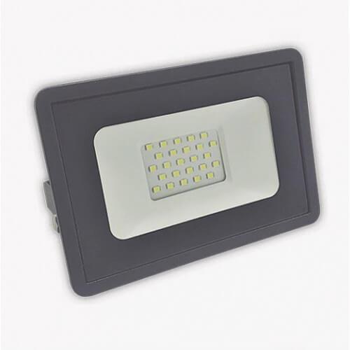 Прожектор светодиодный СДО 30Вт 4000К IP65 серый 178х150х24 мм Фарлайт